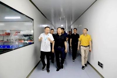 萍乡经开区党工委书记李锦林调研园区重点项目建设