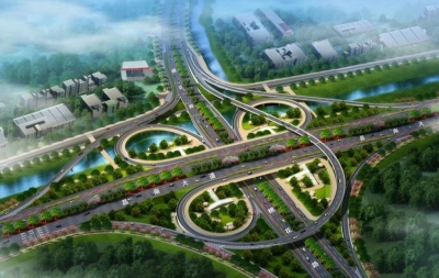 南昌昌南大道沿江快速路匝道封闭施工 过往司机请绕行