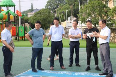 鹰潭市司法局考察团在安源区学习考察法治文化阵地建设工作