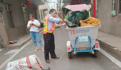 """萍乡八一街:人人都是""""巡路员"""" 个个争当""""找茬员"""""""