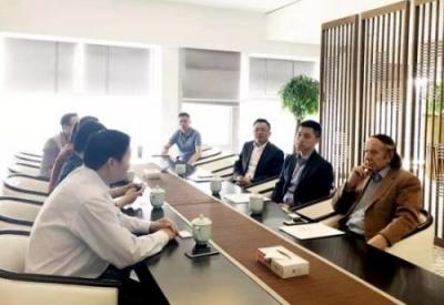 全球中小企业联盟来景德镇市交流考察