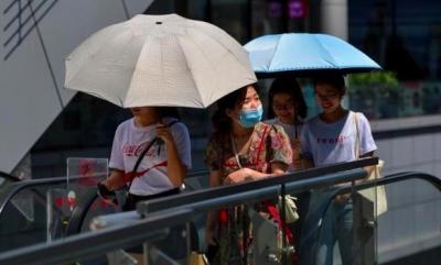 江南华南有持续性强降水 华北等地有持续性高温天气