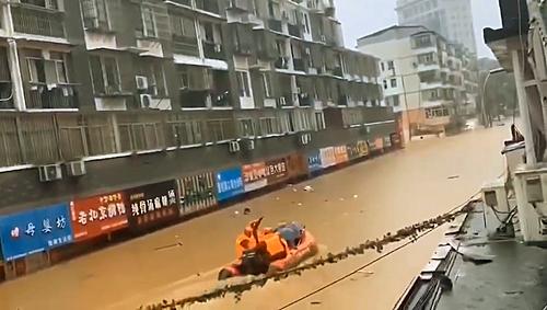 景德镇市气象局发布暴雨红色预警信号(图)