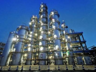 世龙实业年产20万吨双氧水项目建成投产