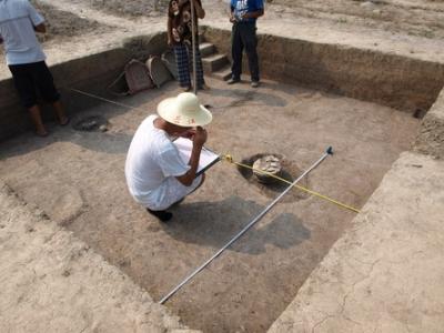 瑞昌发现10余件古人类石器 可追溯至距今10万年左右