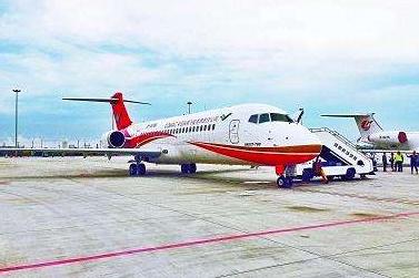 首航后两个月 江西航空国产ARJ21飞机承运1万名旅客