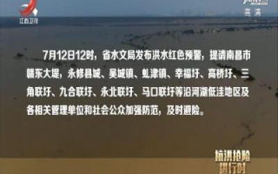社会传真20200713 直击修河三角联圩抢险救援一线