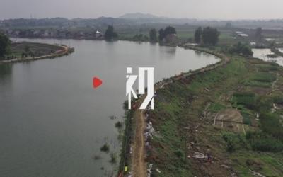堤坝发生险情 工龄30多年老水利员只身跳入水中