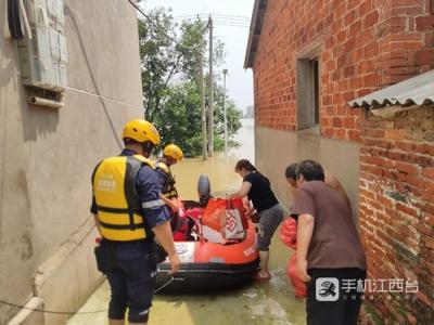 截至16时江西超警戒站25个 鄱阳湖水位将高位缓退