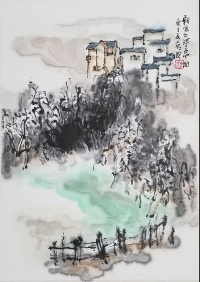 脱贫攻坚成效显著 千年古村焕发生机——全国美术家走进白梅村采风侧记
