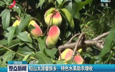 上饶·铅山太源畲族乡:特色水果助农增收