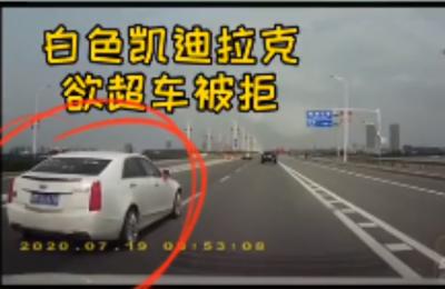 就发生在南昌瑶湖大桥,全被拍下来了!