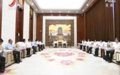 易炼红会见科大讯飞董事长刘庆峰一行 省政府与科大讯飞签署战略合作框架协议
