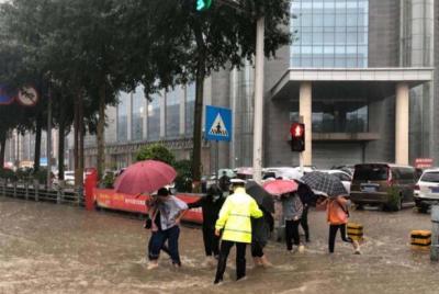 青海西宁现今年首场暴雨 最大降水量达75.2毫米