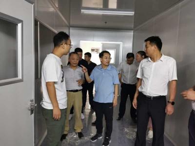 萍乡安源区委副书记、区长黎增义督导八一街重点项目建设