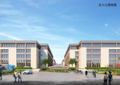 萍乡湘东:返乡创业平台智能制造产业园A、B区项目再现加速度