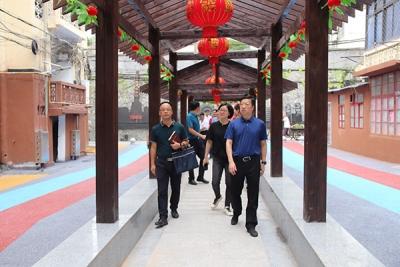 萍乡安源区委书记康峰督导八一街文明城市创建工作