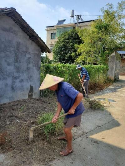 民和镇大力开展农村人居环境卫生整治工作