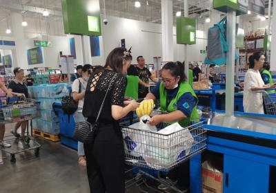 """新版""""限塑令""""加速落地 南昌大型商超推出可降解塑料袋"""