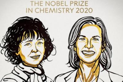 2020年诺贝尔化学奖授予两名女科学家
