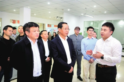 林彬杨在浔阳区和濂溪区调研时强调 培育新业态新模式新动能打造城市经济增长极
