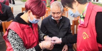 【我们的节日·重阳节】志愿服务走进敬老院