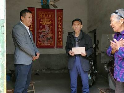 【暖新闻•江西2020】萍乡白源街:心系贫困户 爱心企业家送温暖