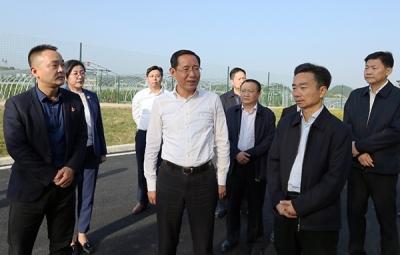林彬杨到德安县和共青城市调研