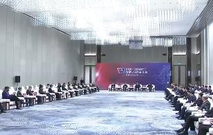 刘奇易炼红会见2020世界VR产业大会云峰会嘉宾
