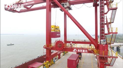 江西最大码头——九江红光国际港正式开港