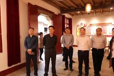 萍乡市司法局组织全市司法行政工作观摩团到安源区观摩