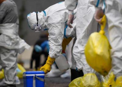 江西省疫情防控指挥部:收到中高风险地区包裹应先消毒