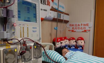 江西首例非亲缘造血干细胞捐出 从南昌紧急运往福建