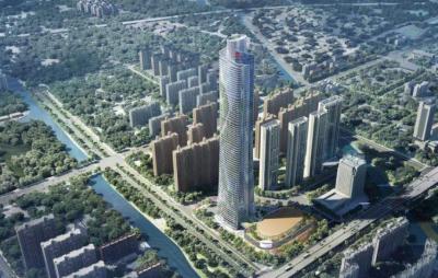 刷新南昌天际线!九龙湖滨江地块将建江西第一高楼