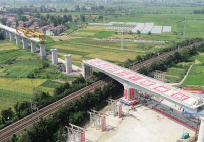 安九高铁江西段施工通道全部打通 江西新增一条进京高铁通道
