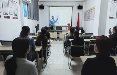 萍乡安源区凤凰司法所与河口下社区联合开展消防安全知识讲座