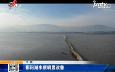 江西:鄱阳湖水质明显改善