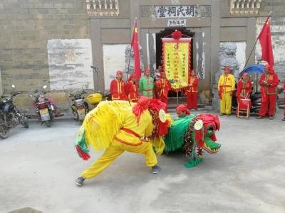 抚州金溪手摇狮传承队举行成立三周年庆典活动