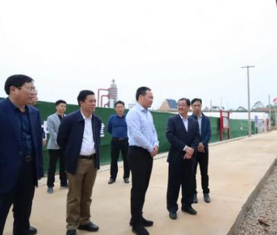 上饶市委副书记、市长陈云在余干鄱阳调研重点水域禁捕退捕和灾后重建工作