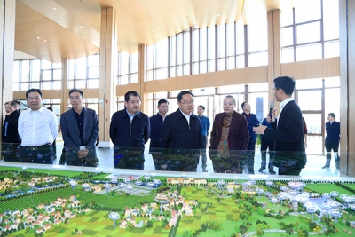 萍乡经开区党政代表团赴各兄弟县区考察学习