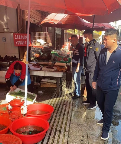 【创建常态化】萍乡八一街落实西门农贸市场常态化巡查