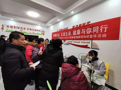 萍乡鹅湖桥社区开展疫情防控知识宣传活动