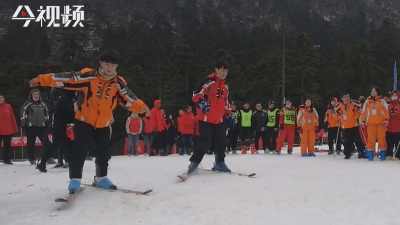 近百名残友参与!江西举行首届残疾人冰雪嘉年华活动