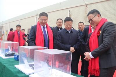 江西浩然智能科技产业园项目推进会暨奠基仪式在萍乡安源举行