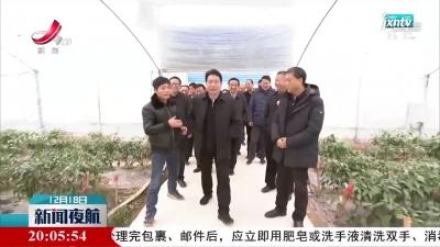 胡强在景德镇调研现代农业发展工作