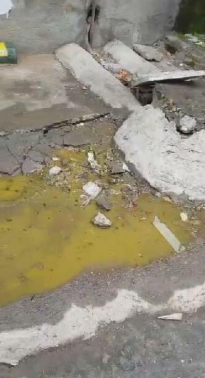 记者帮你办:吉安一小区内污水横流 居民苦不堪言  回应:正在积极介入 寻求解决方案