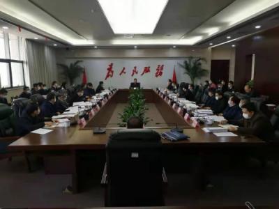 九江市政府党组会议召开 谢来发主持并讲话