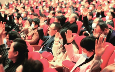 九江市政协十五届六次会议胜利闭幕
