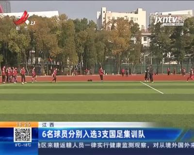 江西:6名球员分别入选3支国足集训队