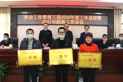萍乡社管三局召开2020年度工作总结暨2021年经济工作会议